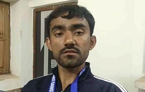 मदन सुथार ने कराटे में जीता रजत पदक - 2 Feb 2018