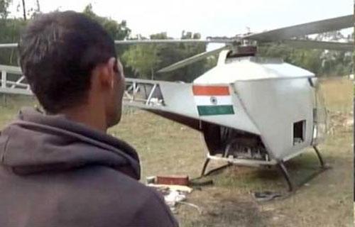 जुनून ऐसा कि एसयूवी इंजन से बना दिया हेलीकॉप्टर 'पवनपुत्र'