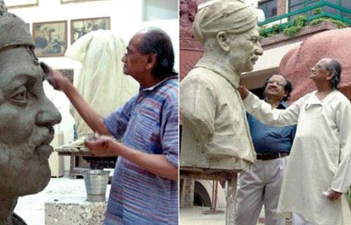 प्रसिद्ध मूर्तिकार राम वी0 सुथार को पद्मभूषण पुरस्कार